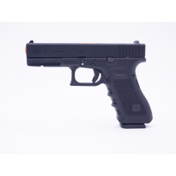 GLOCK 17 SMLE BLOWBACK + 2 CHARGEURS CO2/GAZ + 2 CANONS