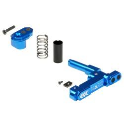 Maxx Model magazine catch Advanced CNC Aluminium Style B (bleu)