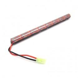 VB5820138  BATTERIE NIMH 9.6V 1600mAh stick AK type 15C