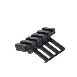 Rail Picatinny à 45 degrés Noir