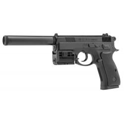 Pack CZ75D Co2 + mallette + laser + silencieux