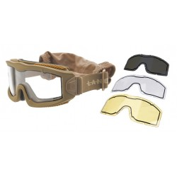 Masque AERO Thermal Tan écran Transparent