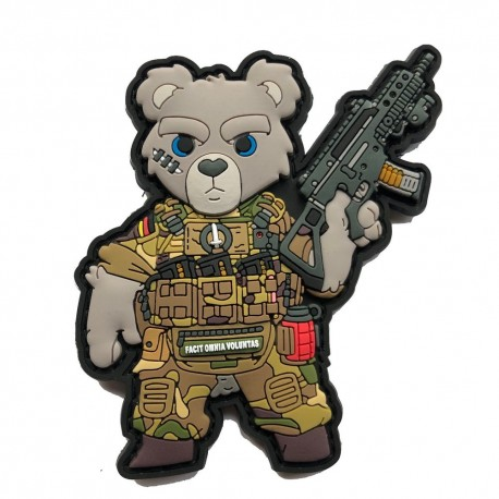 Patch TACTICAL TEDDY V.2  PVC