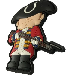 Patch PVC - Redcoat The King's men