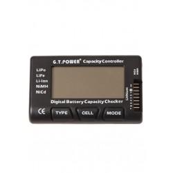Testeur de Capacité de la Batterie pour LiPo LiFe Li-ion Nicd NiMH